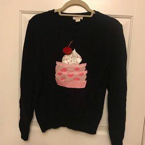 Kate spade cupcake sweater